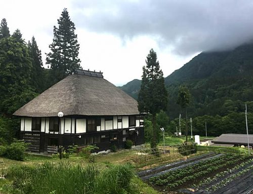 Farmhouses on the Shio No Michi